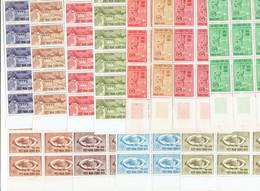 VIET NAM SUD - N°230/237 BLOCS DE 30 TP XX - N°238/241 BLOCS DE 20 TP XX - 1964 - Vietnam