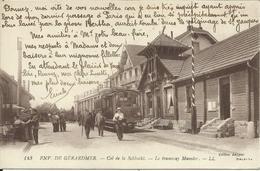 Env. De GERARDMER , Col De La Schlucht , Le Tramway Munster , CPA ANIMEE , 1918 , µ - Andere Gemeenten