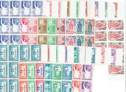 VIET NAM SUD - BLOCS DE 11 TP XX - N°130/133 - 150/152 - 161/164 - 173/176 - 196/199 - 1960 - Vietnam