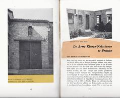 1959 BRUGGE VOORMALIG KLOOSTER ARME KLAREN -  KOLETIENEN MET MEERDERE ILLUSTRATIES - ZELDZAAM NIET TE KOOP OP INTERNET - Livres, BD, Revues