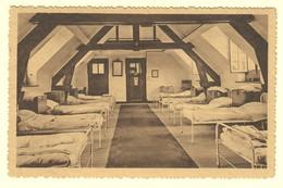 A1489[Postkaart] Verlofkolonie Te Westmalle / Slaapzaal. (Photo Hoelen) [Malle Bedden Slaapkamer Interieur] - Malle