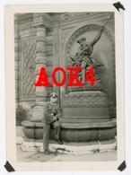 62 ARRAS Occupation Allemande 1940 Fontaine De Neptune Nordfrankreich Wehrmacht - War, Military