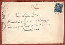 Brief, Koenig Leopold, Boom Nach Goettingen, OKW-Zensur Ca. 1941 (89659) - Belgien