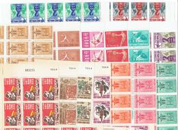 VIET NAM SUD - BLOCS DE 11 TP XX - N°226/229 - 275/278 - 281/283 - 297/300 - Vietnam