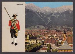 62713/ INNSBRUCK, Gegen Norden, Tambourmajor Der Wiltener Stadtmusikkapelle - Innsbruck