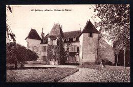 - RARE - JALIGNY (Allier)  262 - Château De Lanzat - Bourbon L'Archambault