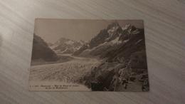 CPA - 8847. Chamonix - Mer De Glace Et Chemin De Fer De Montenvers - Chamonix-Mont-Blanc