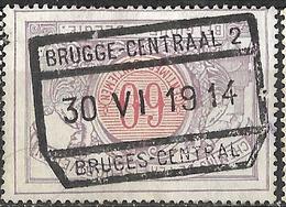 D0.407: BRUGGE-CENTRAAL 2 // BRUGES -CENTRAL: TR37:Type G-s2_G-s - 1895-1913