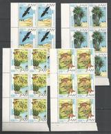 6x SAHARA - MNH - Animals - Birds - Plants - Nature - Oiseaux