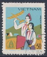 Vietnam 1979 Mi 1042 YT 1781 SG 278  O Used - Children With Model Glider / Modell Segelflugzeug - Int. Jahr Des Kindes - Vietnam