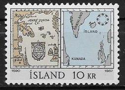 Islande 1967 N° 366  Neuf ** MNH Expo Internationale De Montreal - Nuovi