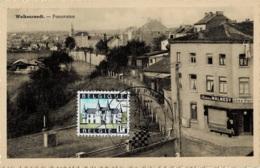 """Welkenraedt Panorama Avec Le Café """" Chez Pierre """" Circulée En 1959 - Welkenraedt"""