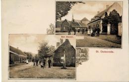 St-Oedenrode Den Heuvel Circulée En 1907 - Nederland