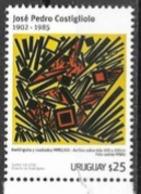 URUGUAY, 2019, MNH,ART, JOSE PEDRO COSTOGLIOLO, 1v - Art