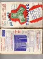 Temps Guerre Catalogue Timbre D France Empire Colonial Français Henri Thiaude Alsace Lorraine Andorre Memel Monaco Sarre - France