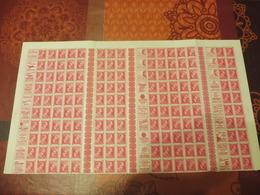 Belgique Publicité Leopold 3 1f Rouge Belle Feuille En Tres Bon Etat ** - Full Sheets