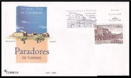 ESPAGNE SPANIEN SPAIN ESPAÑA 2005 HOTEL PARADOR DE OROPESA FDC ED 4168 YV 3760 MI 4055 SG 4116 SC 3363 - FDC