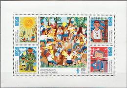 Germany DDR MNH Sheetlet - Childhood & Youth