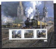 Trein, Train, Locomotive, Eisenbahn : Railway Heritage: Guinee-Bissau: The Flyer At Cheltenham - Eisenbahnen