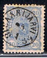 FINLANDE 270 // Y VERT 16 // 1875-81 - Usati