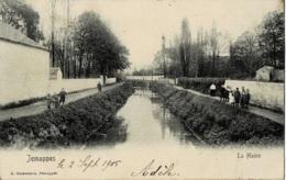 Jemappes La Haine  Circulée En 1905 - Mons