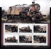 Trein, Train, Locomotive, Eisenbahn : Railway Heritage: Central Africa , Last Day Of Steam - Eisenbahnen