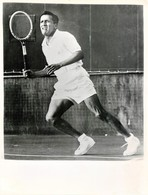 PANCHO SEGURA TENNIS TENNISMAN GRANDE PHOTOGRAPHIE ANCIENNE SPORT EQUATEUR - Sports