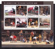 Trein, Train, Locomotive, Eisenbahn : Railway Heritage: Guinee ; A Moment In Time-The Duchess Pacific Nr 46240 - Eisenbahnen