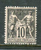Superbe N° 103 Neuf ** - 1898-1900 Sage (Type III)
