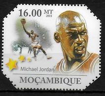 MOZAMBIQUE  N° 3873 * * Basket Jordan - Baloncesto