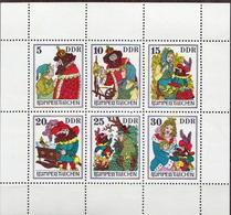 Germany DDR MNH Sheetlet - Fairy Tales, Popular Stories & Legends