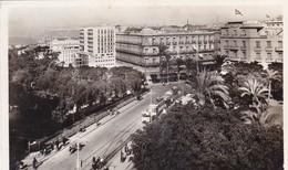 ALGERIE. ORAN. CARREFOUR DU BOULEVARD CLEMENCEAU ET DE L'HOTEL CONTINENTAL.. ANNÉES 50 + TEXTE - Oran