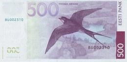 ESTONIA P. 89 500 K 2007 UNC - Estonia