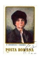 Roumanie RO 3536     1984   Small Shepherd By N Grigorescu  Enfant   Peintures Portrait - Usado
