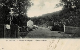 Vallée Du Houyoux Route à Barse Circulée En 1907 - Modave