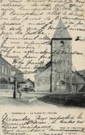 Andenelle La Place Et L'Eglise Circulée En 1907 - Andenne