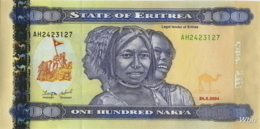 Erythrée 100 Nakfa (P8) 2004 (Pref: AH) -UNC- - Erythrée