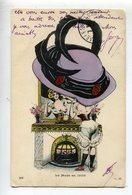 Illustrateur Seins Nus  Femme Chapeau - Otros Ilustradores