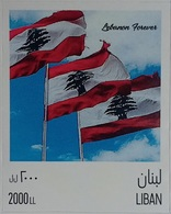 Lebanon NEW 2019 MNH 1st Personalized Stamp Self-adhesive Theme Chosen: Flag Of Lebanon - Libanon