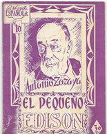 """Novélo Espanola N°16 < """" EL PEQUENO EDISON """" De ANTONIO ZOZAYA - Culture"""
