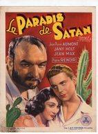 472 - CINEMA - Le PARADIS De SATAN  - Ciné STUART à SERAING -     1939  -  1940 - Affiches Sur Carte