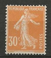 TYPE SEMEUSE  N° 141 NEUF** SANS CHARNIERE / MNH - 1906-38 Semeuse Camée