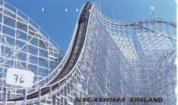 Télécarte - Parc D'attractions - Montagne Russe - ROLLER COASTER (76)– ACHTBAAN Pretpark - ACHTERBAHN Vergnügungspark - Spelletjes