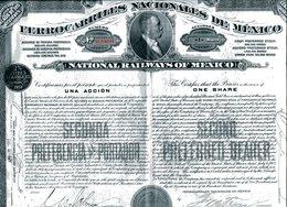 FERROCARRILES NACIONALES De MÉXICO; Una Acción - Shareholdings