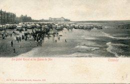 BELGIUM -  Ostende - Le Chalet Royal Et Les Bains De Mer - Unused Vignette & Undivided Rear - Oostende