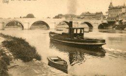 BELGIUM -  Huy - Le Vieux Pont - VG Tug Etc - Huy
