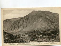ANDORA - Panorama De Escaldes I Andorra La Velle - Andorre