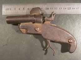 Pistolet Canon Double - Decotatieve Wapens