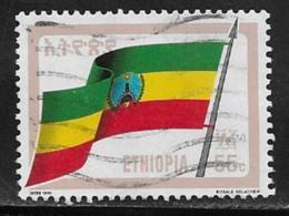 Ethiopia Scott # 1288 Used Flag, 1990 - Etiopia