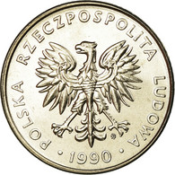 Monnaie, Pologne, 20 Zlotych, 1990, Warsaw, SPL, Copper-nickel, KM:153.2 - Polen